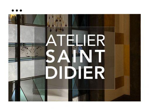 Site Atelier Saint Didier