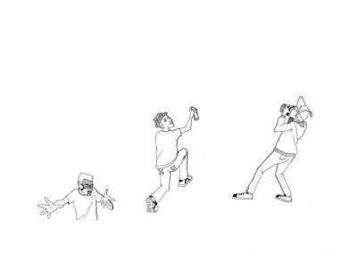 Illustration – Intermittent du travail