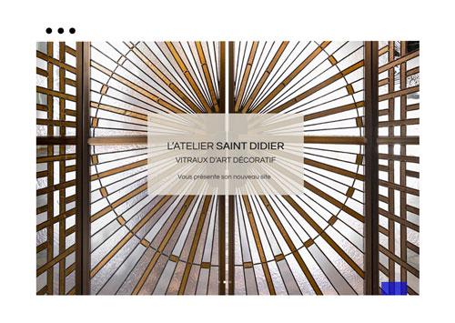 Atelier Saint Didier | Nouveau site