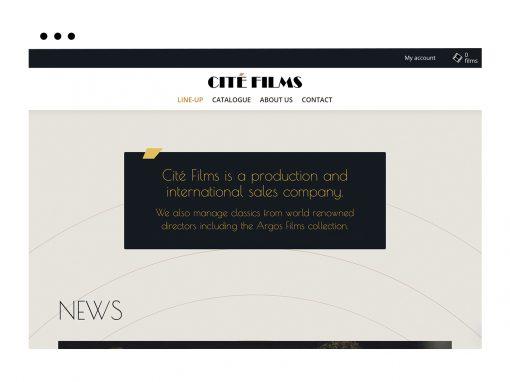 Cité Films – Refonte de site